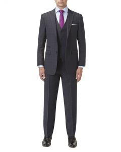 Abbot Suit Charcoal Check