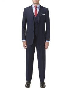 Jennings Suit Navy Stripe