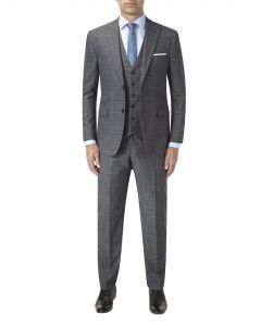 Malvern Suit Grey Check