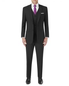 Darwin Tailored Suit Black Stripe