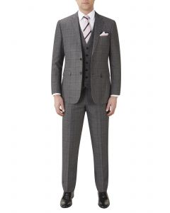 Theodore Suit Grey Check