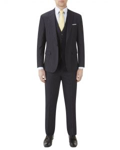 Shakespeare Suit Navy Stripe