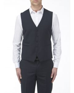 Madrid Navy Suit Waistcoat