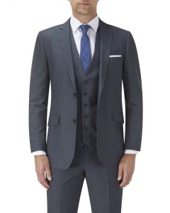 Harcourt Tailored Suit Jacket Blue