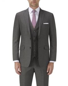 Harcourt Tailored Suit Jacket Grey