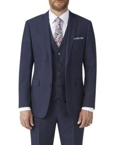 Harcourt Tailored Suit Jacket Navy