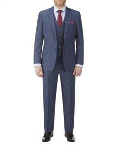 Saltley Blue POW Check Suit
