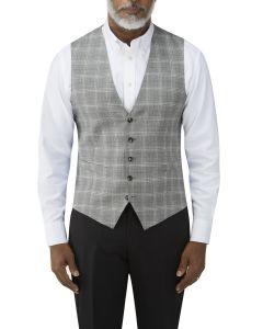 Syracuse Check Waistcoat