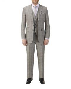 Mazara Check Suit