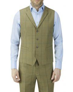 Goodwood Check Suit Waistcoat