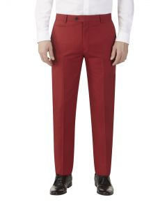 Silas Suit Trouser Red
