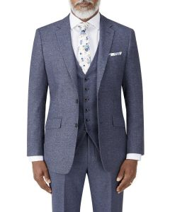 Bremner Tweed Suit Jacket Blue