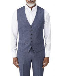 Bremner Tweed Suit Waistcoat Blue