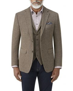 Gisburn Herringbone Jacket Thorn