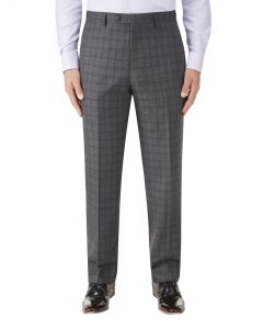 Agden Suit Trouser Grey Check