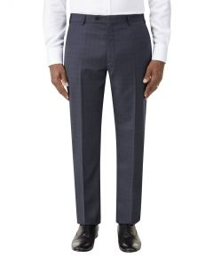 Irvine Suit Trouser Navy Check
