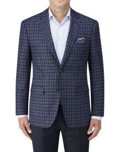 Delamere Jacket Blue Check