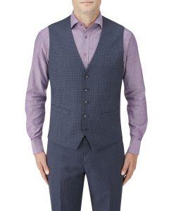 Sonderborg Suit Waistcoat Navy Multi Check
