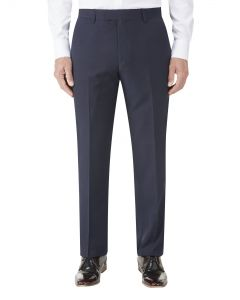 Nyborg Suit Tailored Trouser Navy Micro Check