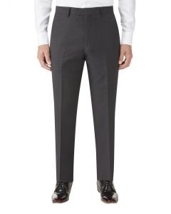 Nyborg Suit Slim Trouser Charcoal Micro Check