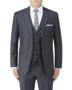 Charnwood Suit Jacket Navy Check
