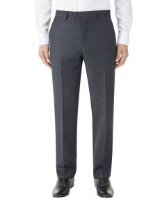 Charnwood Suit Trouser Navy Check