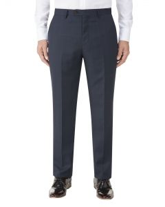 Wentwood Suit Trouser Navy Check