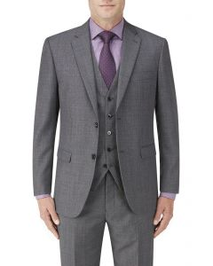 Wentwood Suit Jacket Charcoal Check