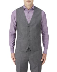 Wentwood Suit Waistcoat Charcoal Check