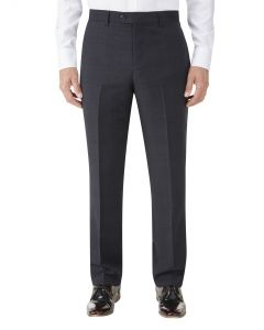 Hayling Suit Trouser Navy Check