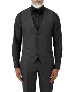 Kendrick Suit Waistcoat Black