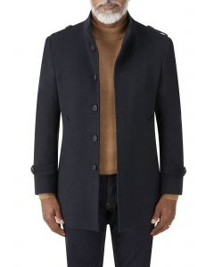 Holland Overcoat Navy