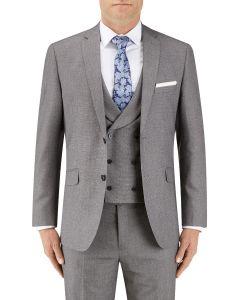 Harcourt Slim Suit Jacket Silver
