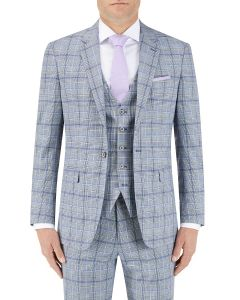 Stark Check Suit Jacket