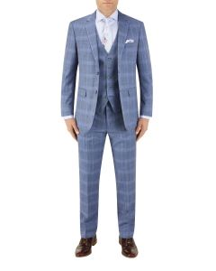 Kaye Suit Blue Check
