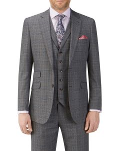 Witton Suit Jacket Grey Check