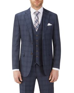 Minworth Suit Jacket Blue Check