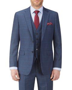 Sheldon Suit Jacket Blue Check