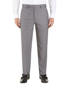 Harcourt Tapered Suit Trousers Silver