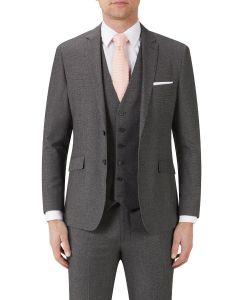 Harcourt Slim Suit Jacket Grey