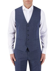 Pietro Suit Waistcoat Blue