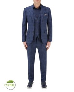 Angus Suit Blue Check