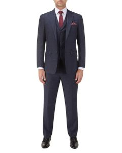Staunton SB Suit Navy Check