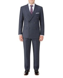 Staunton DB Suit Navy Check