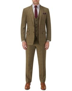 Aviemore Suit Olive Check