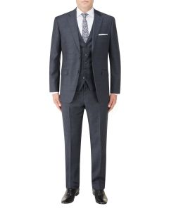 Charnwood Suit Navy Check