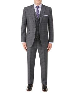 Agden Suit Grey Check
