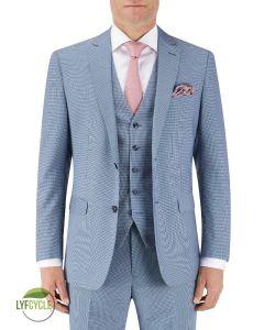 Pepe Suit Jacket Blue Check