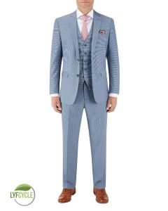 Pepe Blue Check Suit