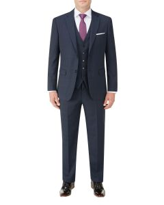 Wentwood Suit Navy Check